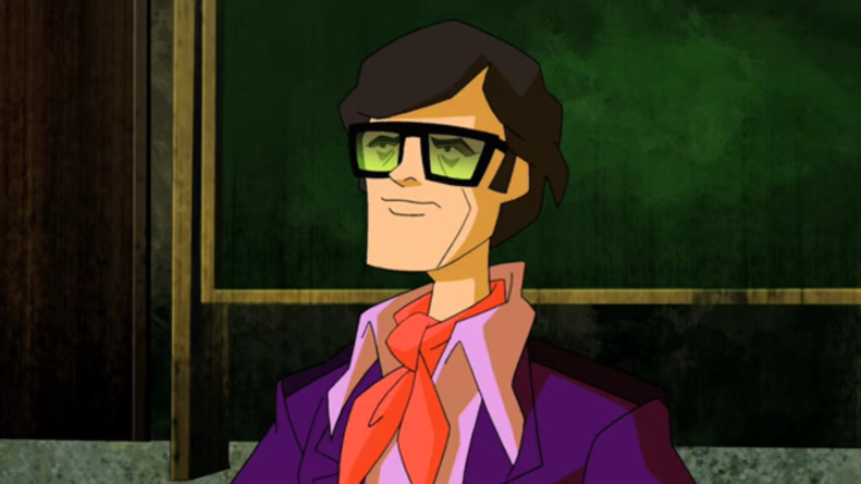 The Harlan Ellison in Scooby-Doo! Mystery Incorportated