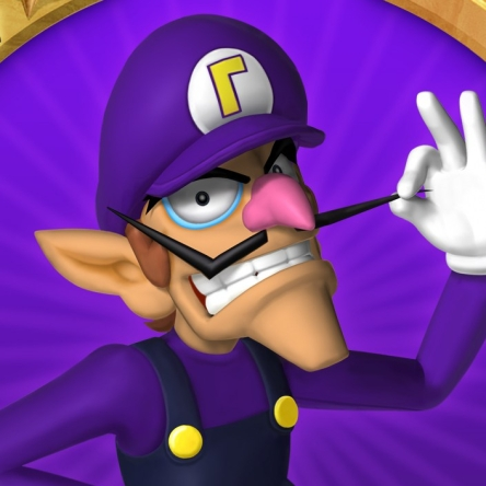 Waluigi from Mario Party 6