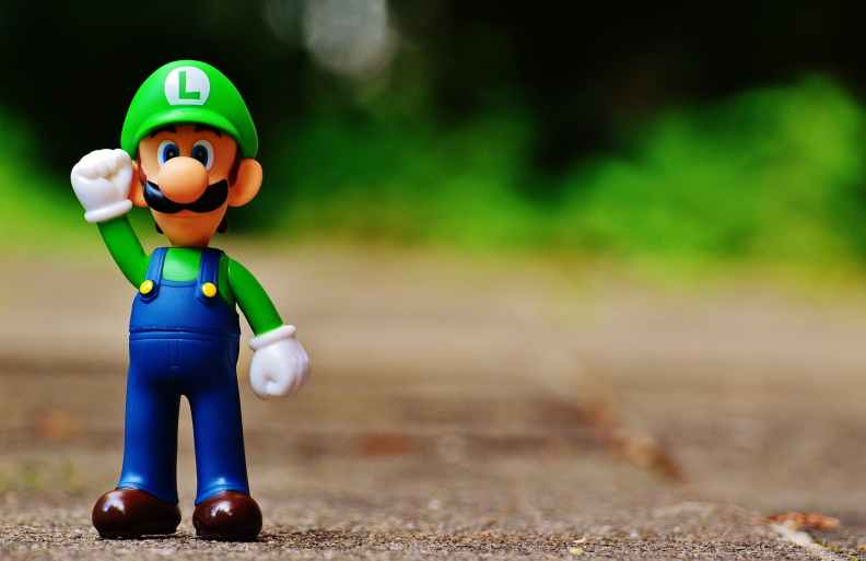 Luigi from Mario Party
