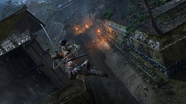 Sekiro: Shadows Die Twice Grappling Hook Screenshot