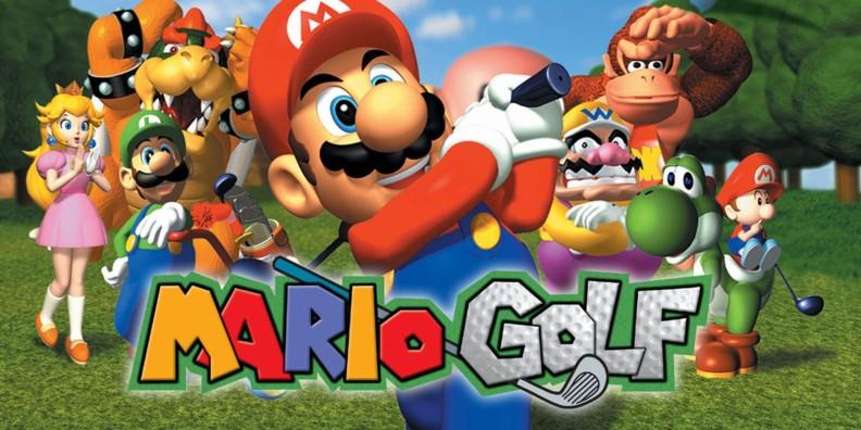 Mario Golf Art