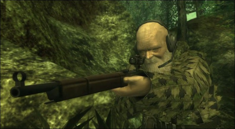 The End from Metal Gear Solid 3