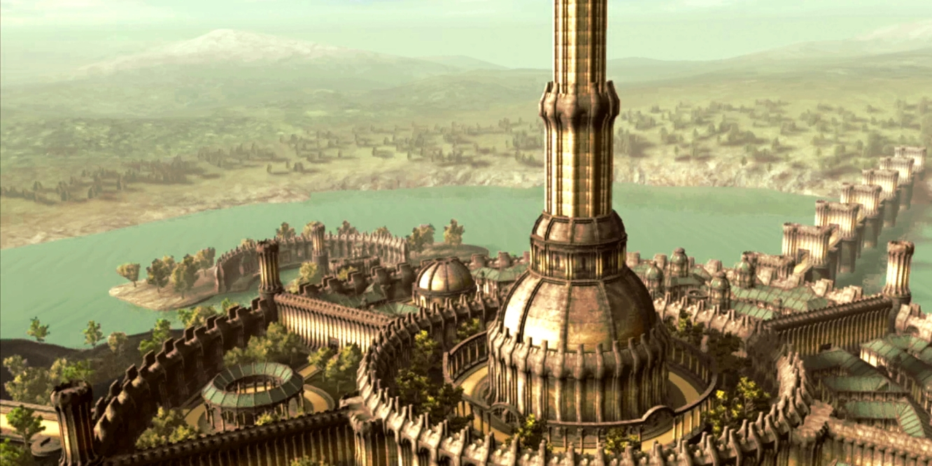 The Imperial City from The Elder Scrolls: Oblivion