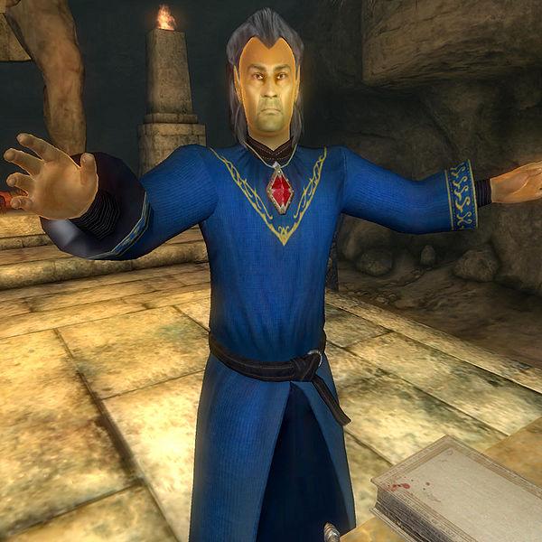 Mankar Camoran character from Oblivion