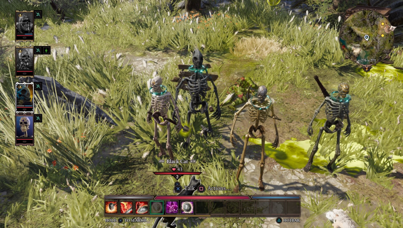 The Bone Boys from Divinity: Original Sin 2, pictured together