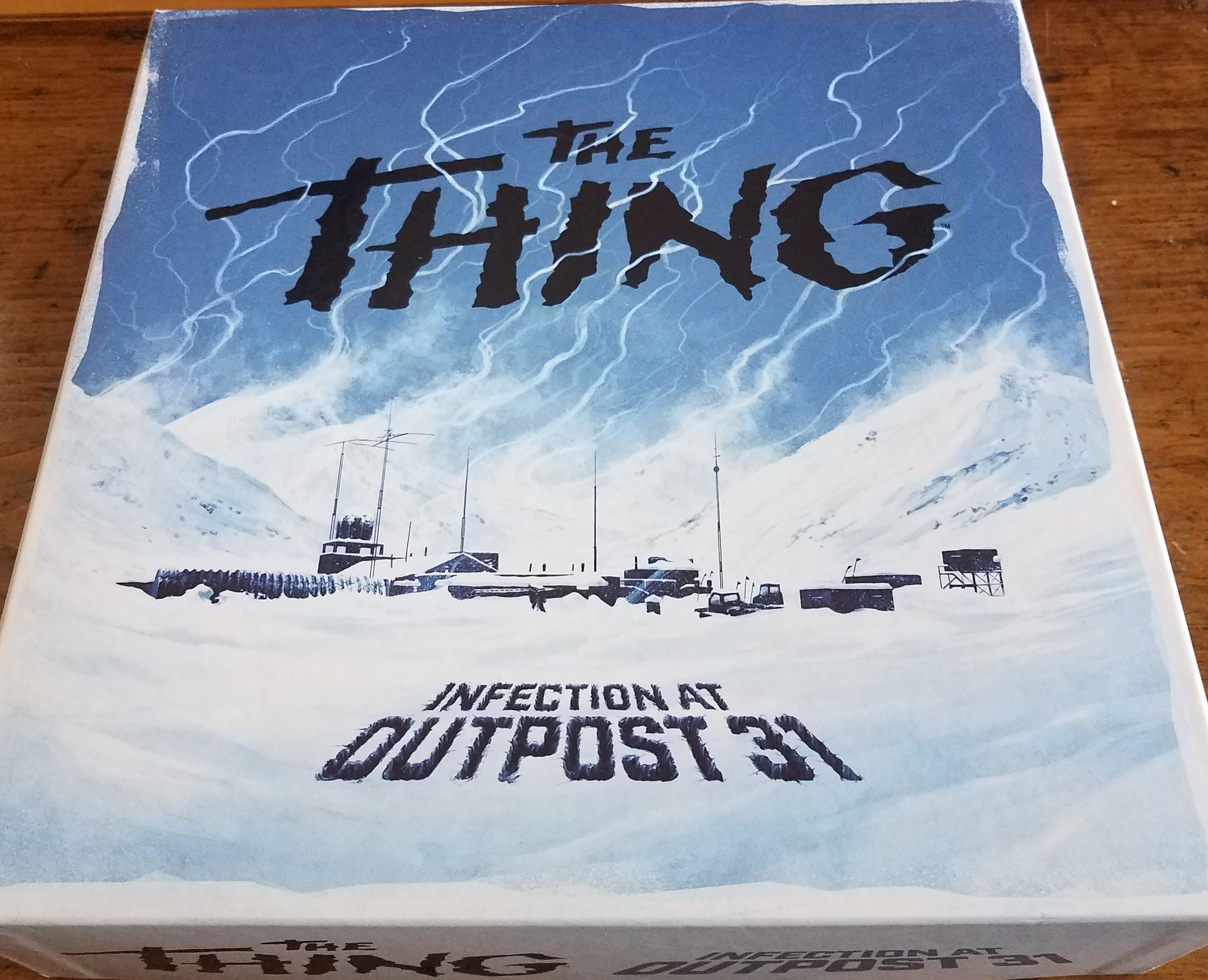Pictured: The Thing board game