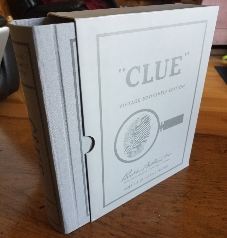 The Clue board game, vintage