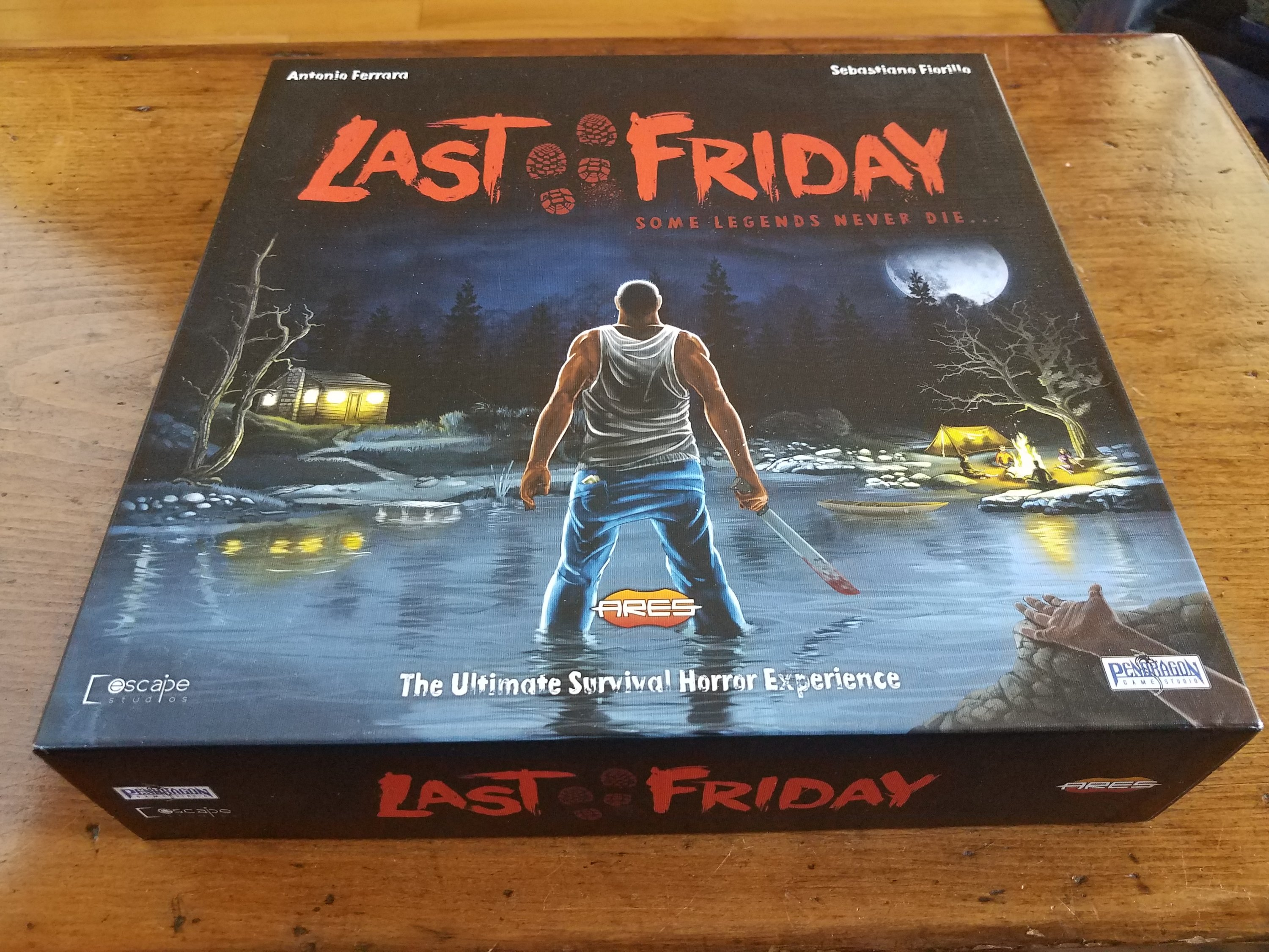 Last Friday board game cover