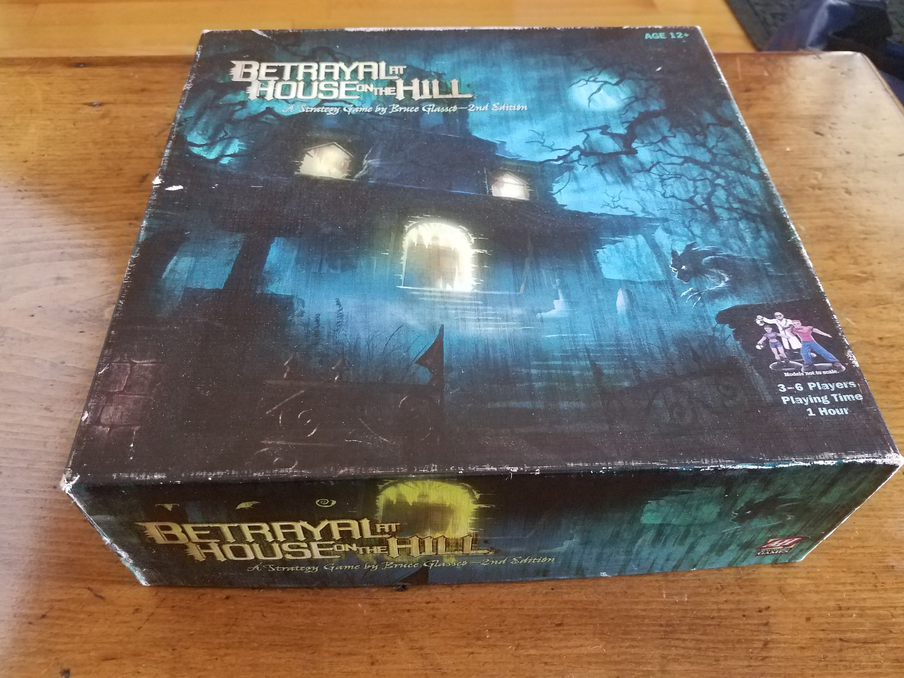 Betrayal at House on the Hill board game cover