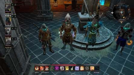 The Bone Boys Take a Pic in Divinity: Original Sin 2