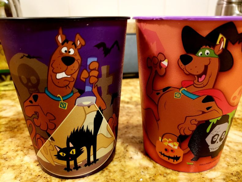 Two Scooby-Doo Cups