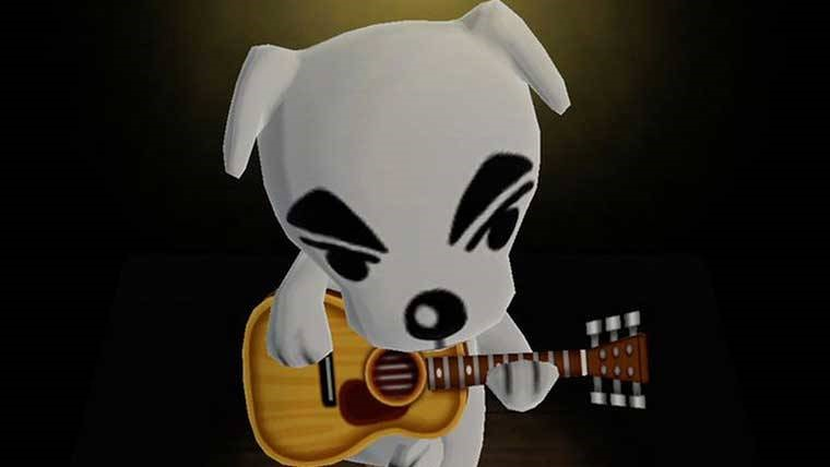 K.K. Slider from Animal Crossing