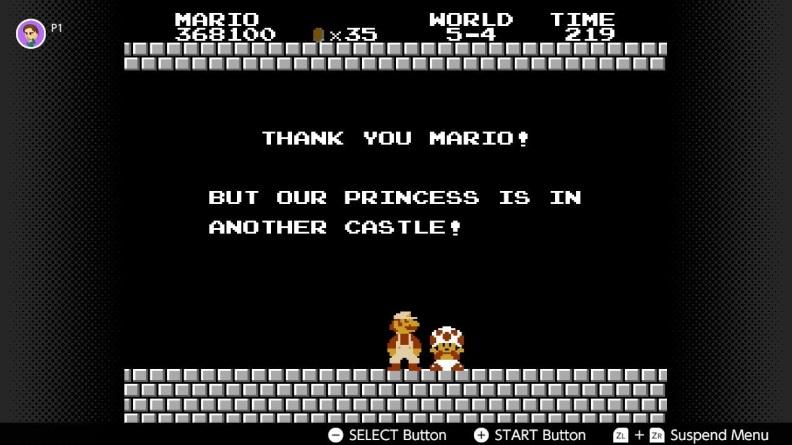 Super Mario Bros. Screenshot on Switch 1