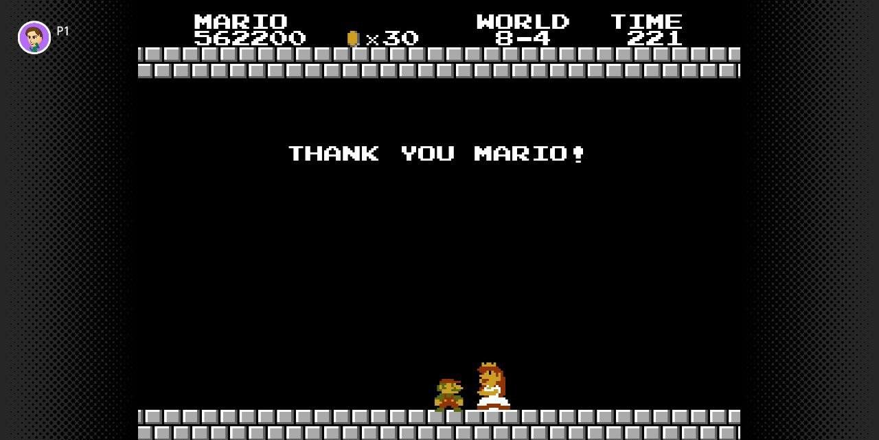 Super Mario Bros. Screenshot on Switch