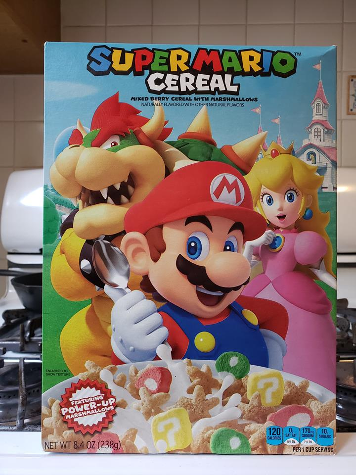 Super Mario Cereal pic