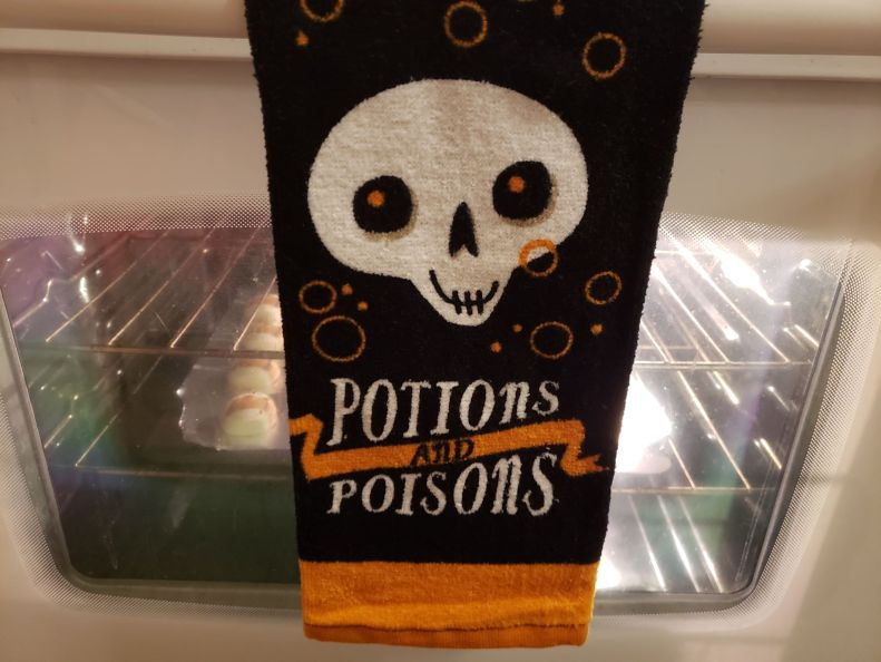 Potions and Poisons dish towel