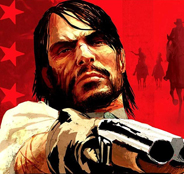 Red Dead Redemption cover art
