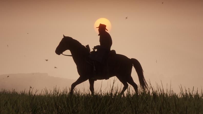 Red Dead Redemption 2 art