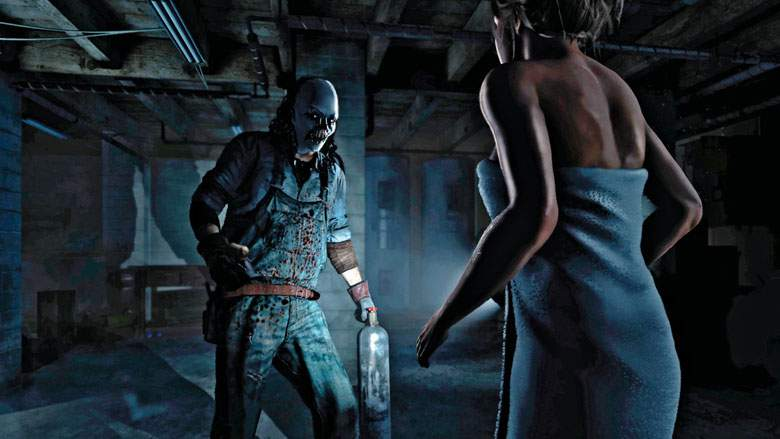 Until Dawn psycho killer