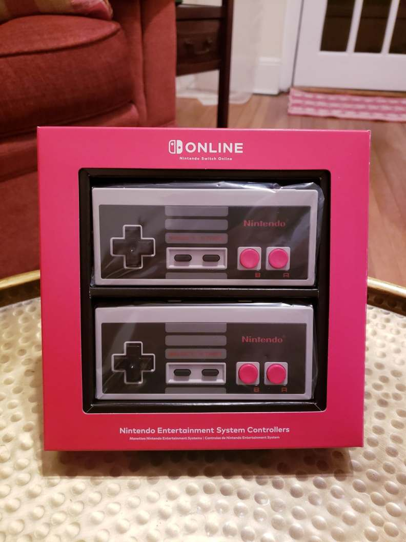 Nintendo Switch NES Controllers in Box