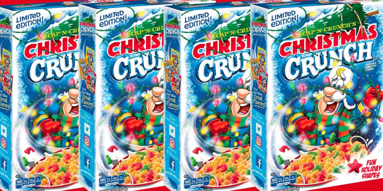 Cap'n Crunch Christmas Crunch image from Delish