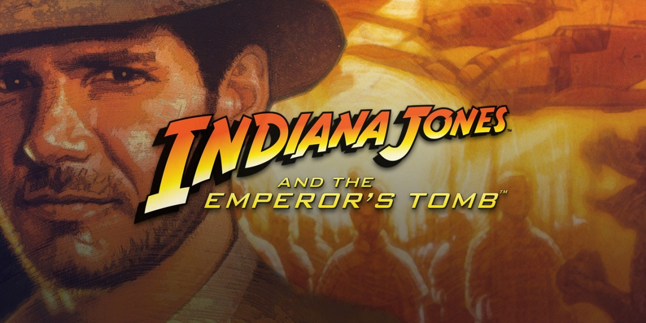 Indiana Jones and the Emperor's Tomb cover
