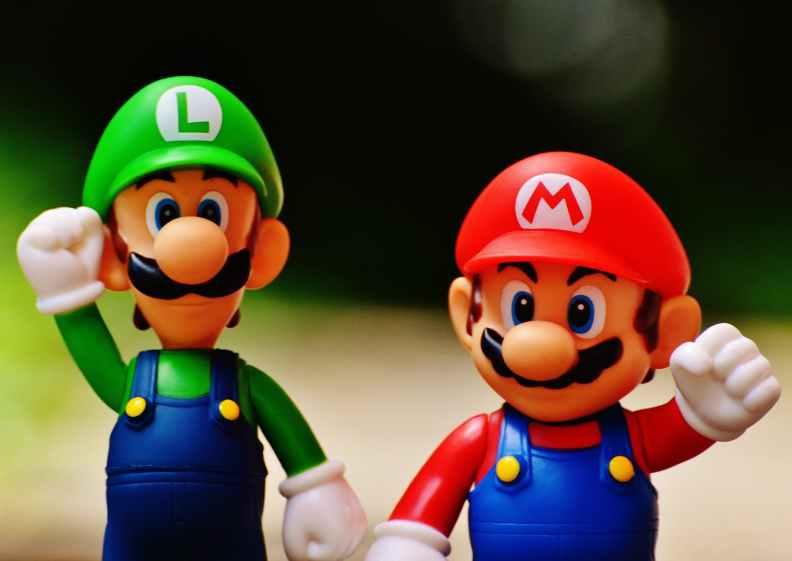 Mario and Luigi from Nintendo