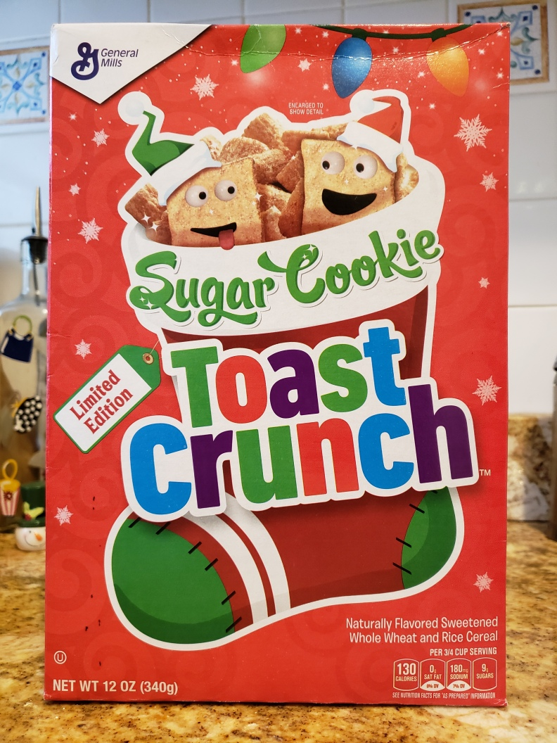 Limited Edition Sugar Cookie Toast Crunch