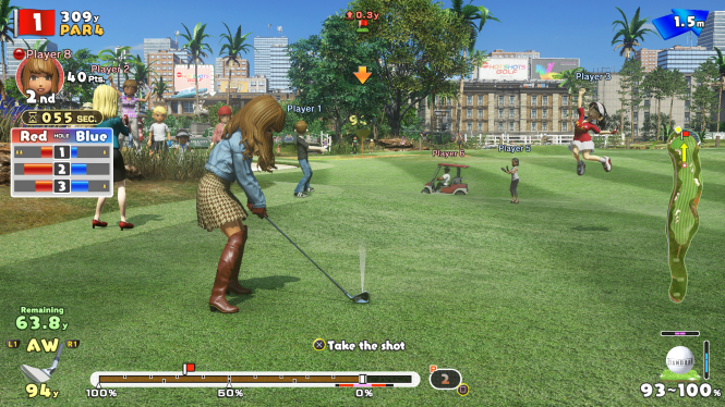 Everybody's Golf screenshot