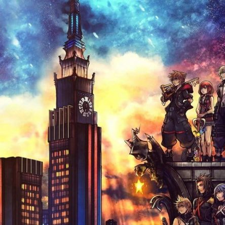 Kingdom Hearts 3 Art
