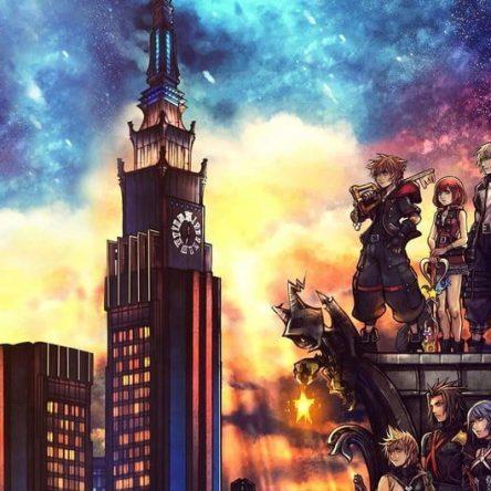 Kingdom Hearts 3 Art