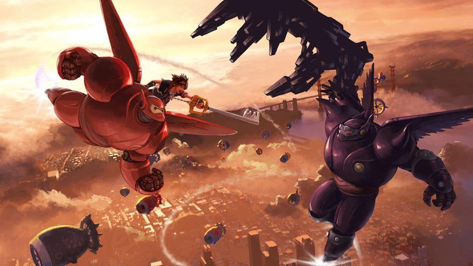 Kingdom Hearts 3 Battle