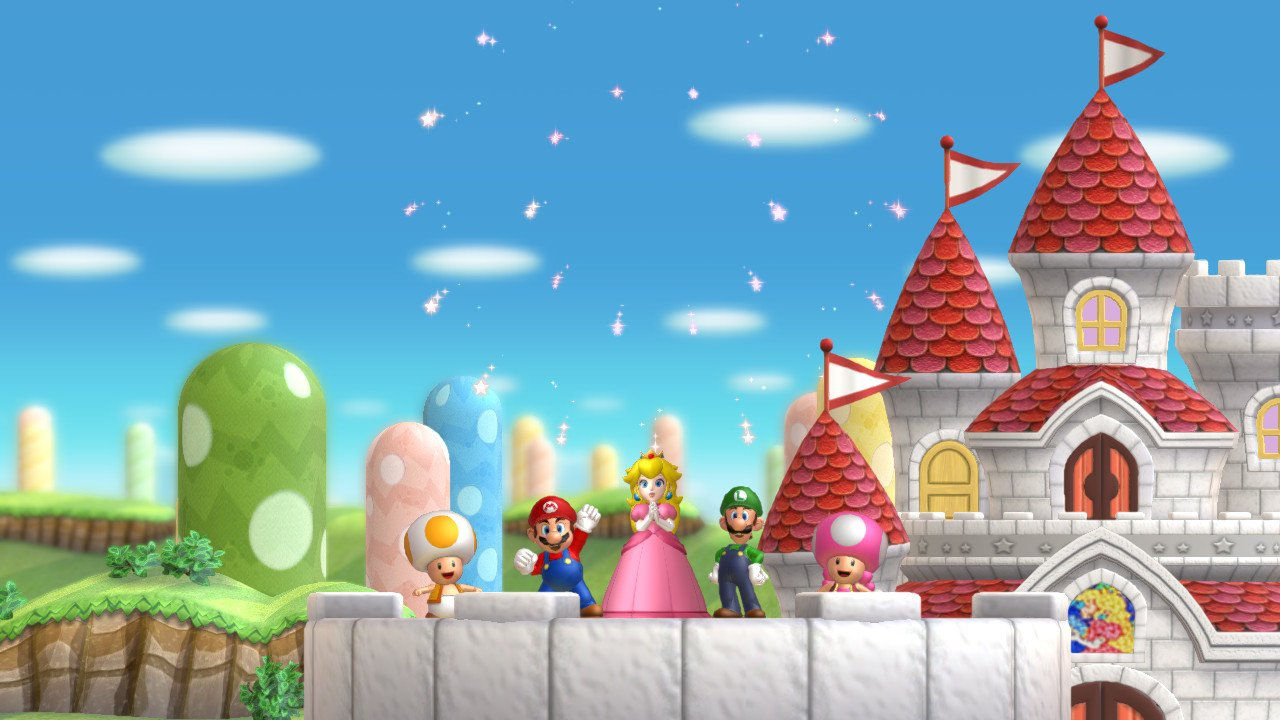 New Super Mario Bros. U Deluxe screengrab