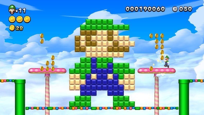 New Super Mario Bros. U Deluxe Luigi