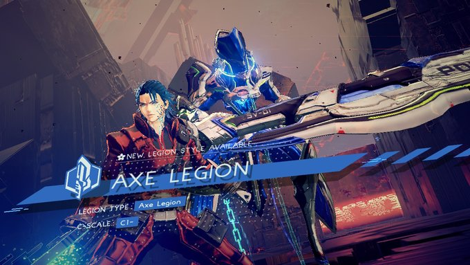 Astral Chain Axe Legion
