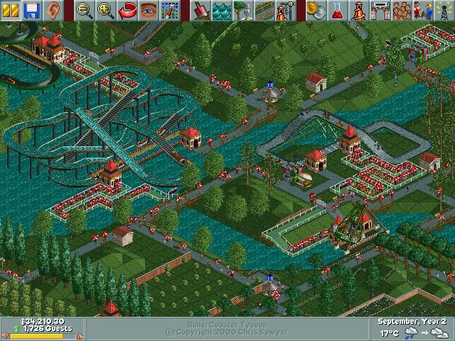 Rollercoaster Tycoon screenshot