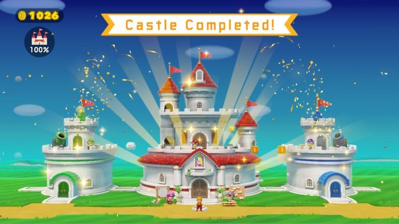 Super Mario Maker 2 Castle Completed