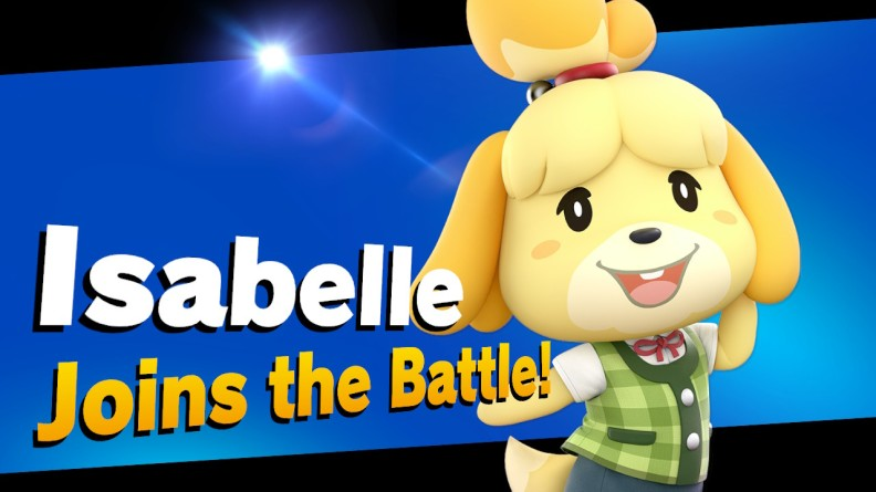 Isabelle in Super Smash Bros. Ultimate
