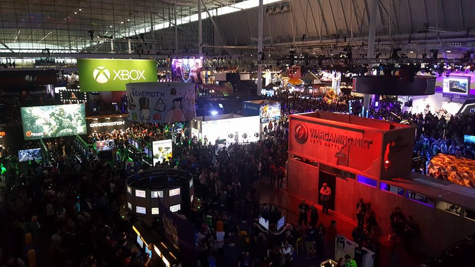 PAX Exhibition Floor