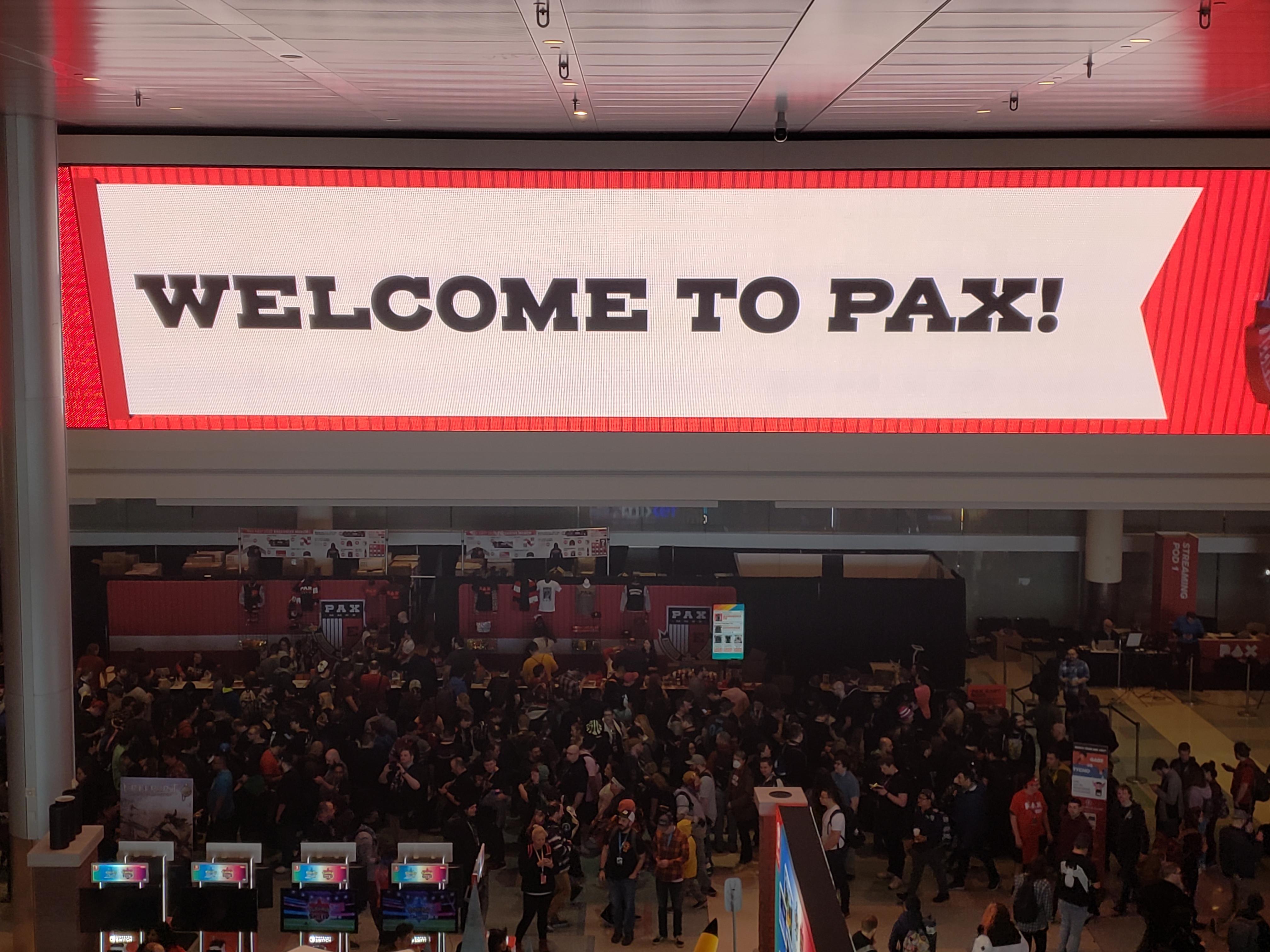 PAX East Entrance