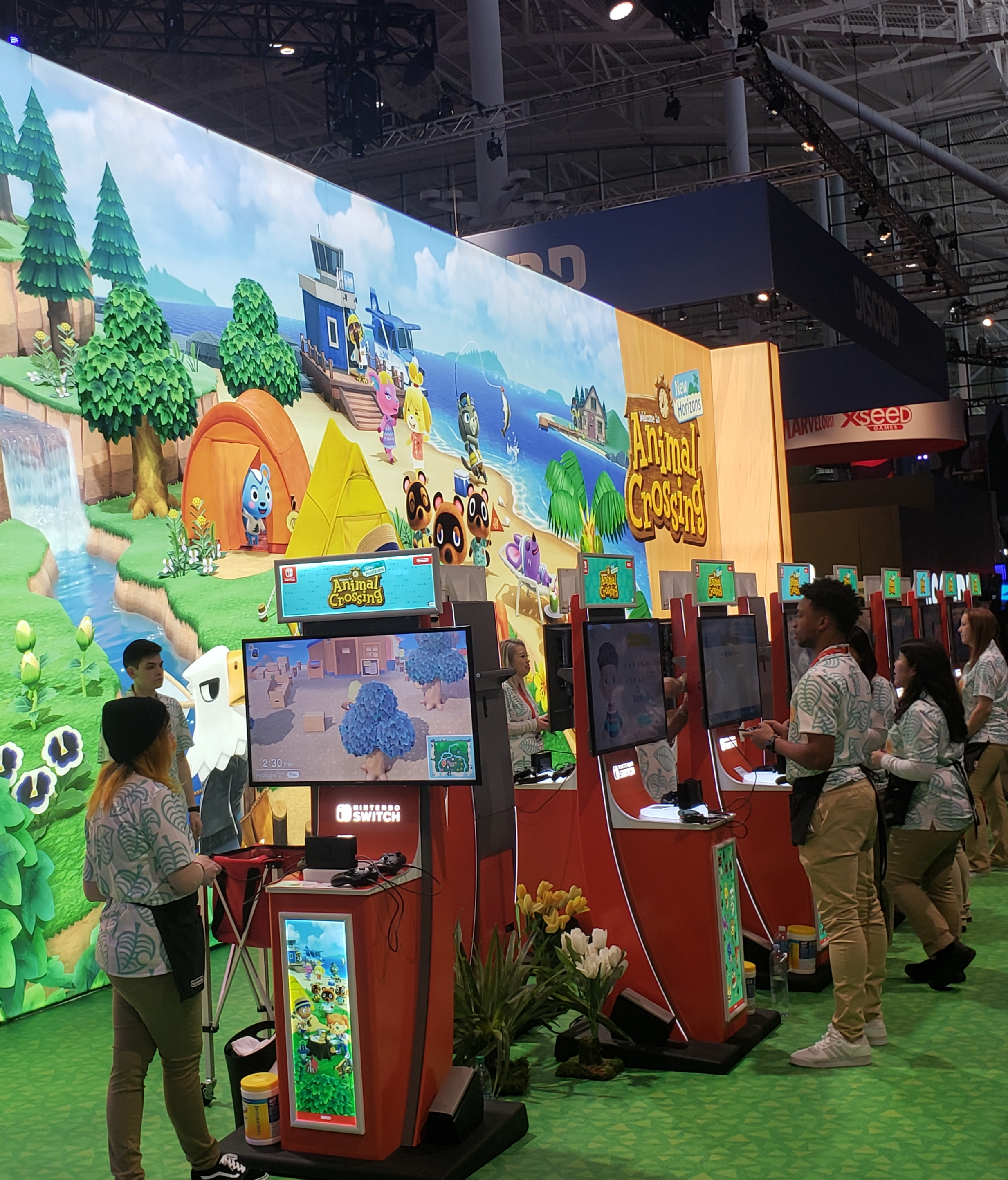Animal Crossing Booth at PAX East 2020